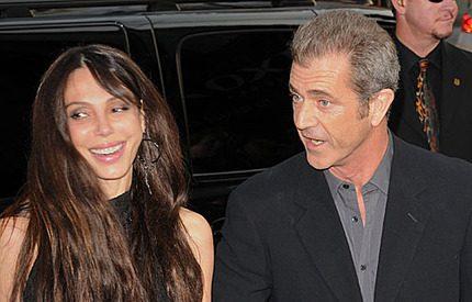 Mel Gibsons älskarinna <br>redan med barn!