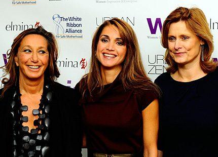 Drottning Rania fick pris för sin kamp för kvinnors rättigheter