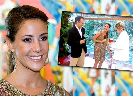Prinsessan Marie i morgon-TV i Brasilien