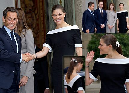 Bildspel: Victoria charmade president Nicolas Sarkozy