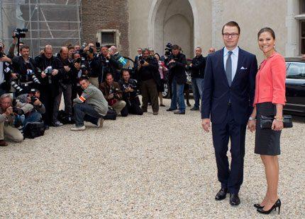 Webb-tv: Kronprinsessan kommer till Pyrenéerna
