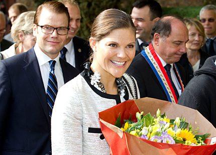 Sista dagen i Frankrike hamnade Victoria och Daniel i skolbänken