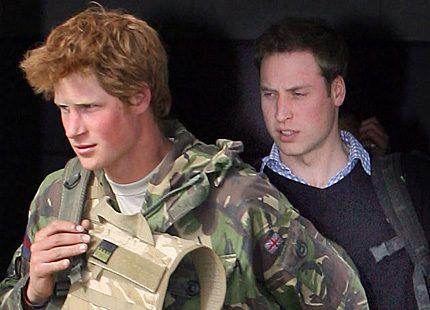 Prins Harry hotas dödas av terrorister