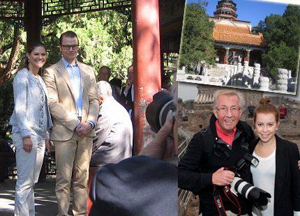 Johanna och Charles fortsätter följa Victorias och Daniels resa i Kina
