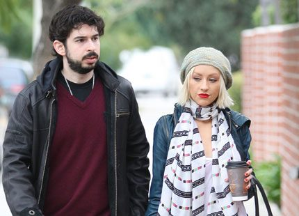 Christina Aguilera separerar från maken