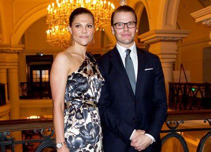 Kronprinsessan bar svenskt i Shanghai