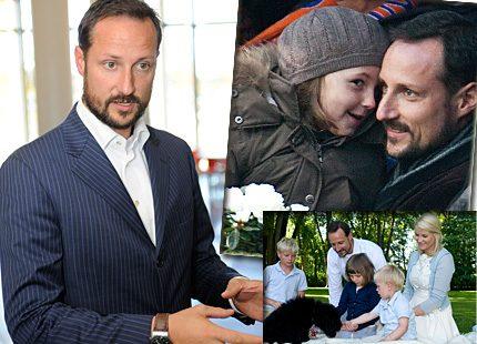 Kronprins Haakon önskar han var en bättre pappa