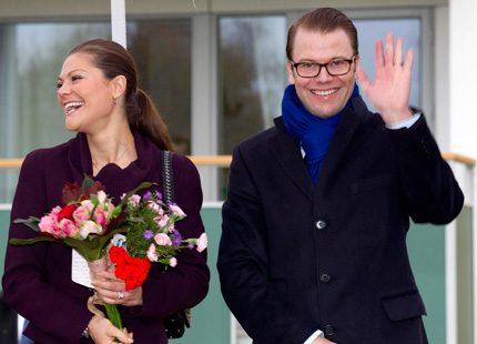 Bildspel: Västergötland blev ännu en succé för Victoria och Daniel
