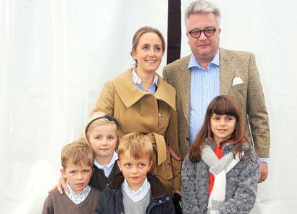 Prins Laurent tog barnen på musikal