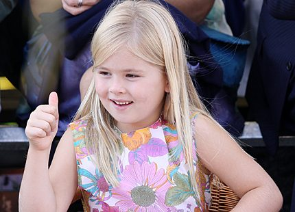 Prinsessan Amalia sjuårspresent – ett alldeles eget flygplan