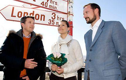 Kronprinsessan Victoria kan nu åter koppla av på Grönland