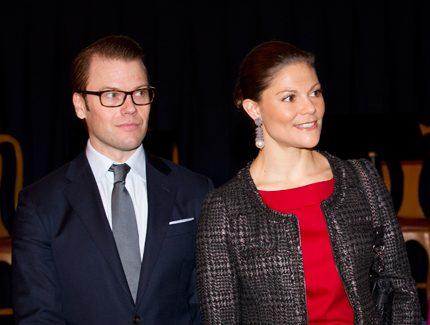 Hektiskt för Victoria och Daniel i Norrbotten