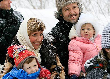 Prinsessan Märtha Louise sänder julhälsning till <br> 100 miljoner amerikaner