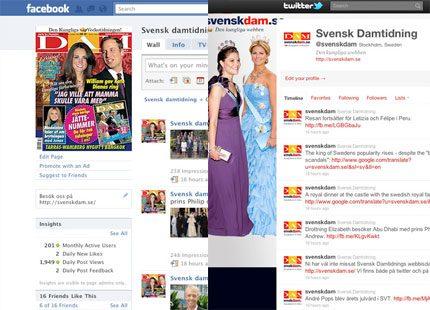Ni följer väl oss på Facebook och twitter?