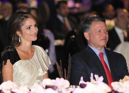 Drottning Rania ordnade galamiddag i Amman