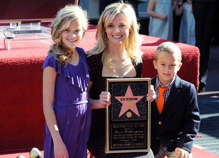 Reese Witherspoon har fått sin stjärna i Hollywood