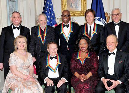 Oprah Winfrey och Paul McCartney prisades i Washington