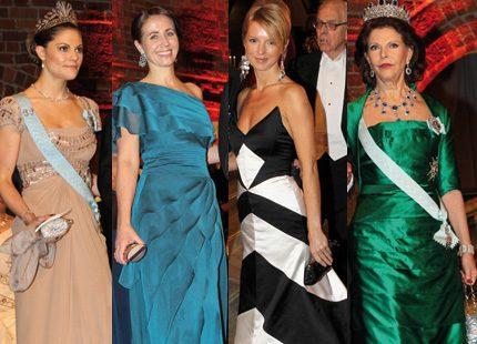 Vem bar vackraste Nobelklänningen 2010?