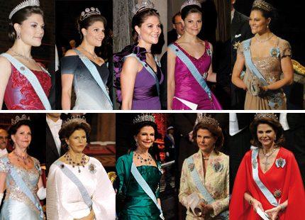 Vinner rätt kunglig Nobelklänning?