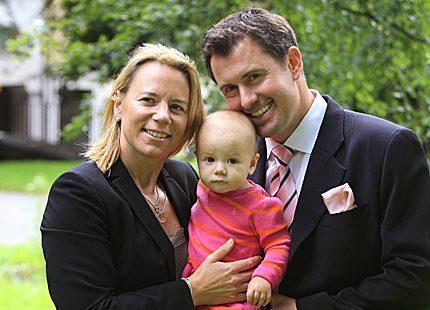 Annika Sörenstam <br>väntar barn igen