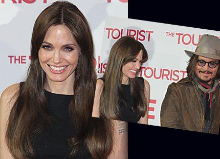 Angelina Jolie skrattar åt Golden Globe-nominering