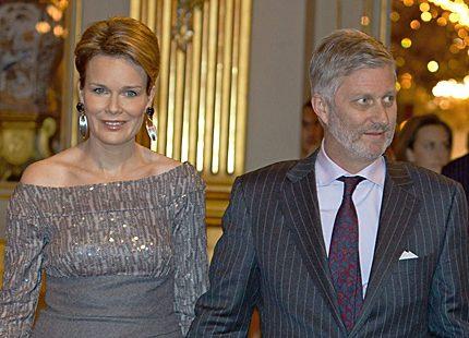 Kronprinsessan Mathilde gjorde succé på julkonserten