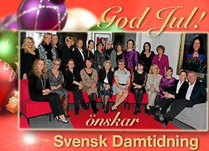 Trevlig helg önskar redaktionen på Svensk Damtidning