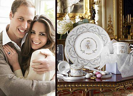 Prins Williams och Kates första officiella bröllopssouvenirer är här