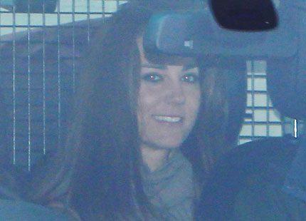 Kate Middleton tillbringade helgen med sin familj