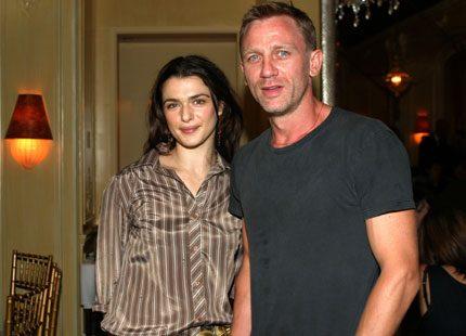 Daniel Craig och Rachel Weisz tillbringade helgen tillsammans