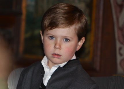Prins Christian firar idag sin födelsedag, utan pappa kronprins Frederik...