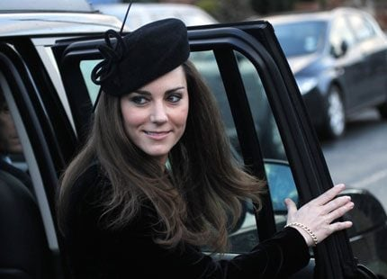 Kate Middleton och prins William var på bröllop i helgen