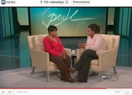 Oprah Winfrey avslöjade familjehemlighet i tv