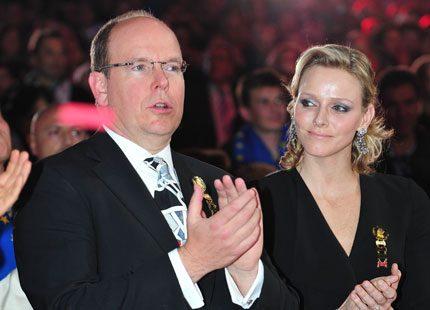 Charlene och Albert prisade cirkusvinnare