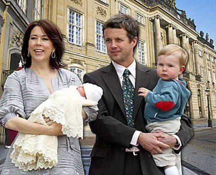 Nu flyttar kronprinsparet Mary och Frederik in till stan