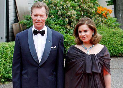 30-årig bröllopsdag för storhertiginnan Maria Teresa och Henri