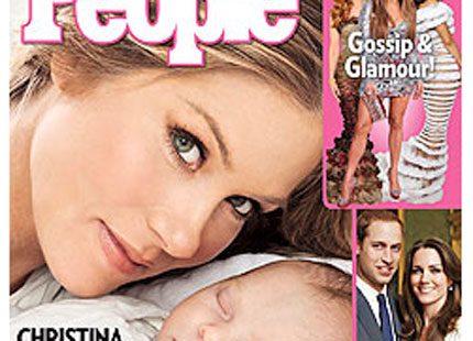 Christina Applegate visar upp sin söta bebis