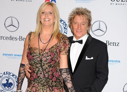 Rod Stewart har fått en son till med Penny