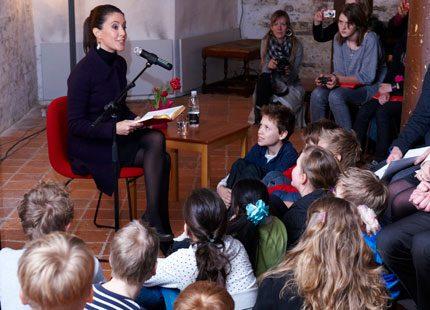 Prinsessan Marie läste för barnen