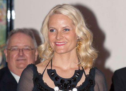 Kronprinsessan Mette-Marit sällsynt olycksdrabbad