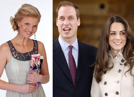 Vår kungliga modebloggare Lotta avslöjar  <br> Kates klänning i tv4