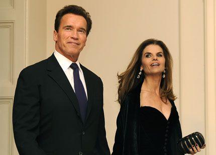 Maria Shriver och Arnold Schwarzenegger har flyttat isär