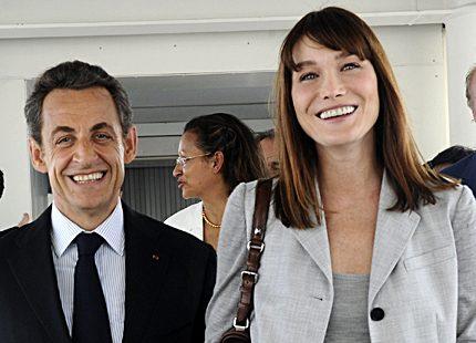 Heta rykten att Carla Bruni väntar tvillingar