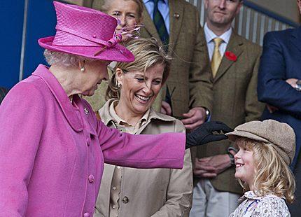 Lady Louise har ärvt farmors passion för hästar