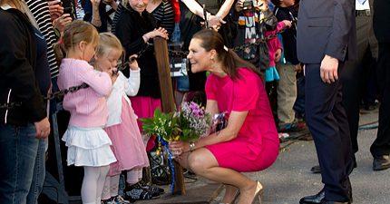 Kronprinsessparet - Postens nya sajt inför bröllopet