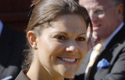 Kronprinsessan Victoria hälsade på Daniel på sjukhuset