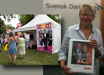 Svensk Damtidnings läsare hyllade Victoria
