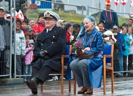 Drottning Margrethes besök på Grönland över för denna gång