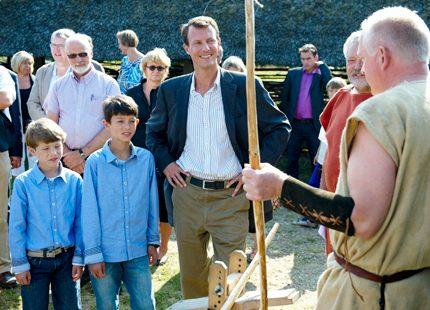 Prins Joachim hade historiskt kul med sönerna