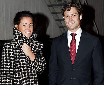 Slut mellan prins Carl Philip och Emma Pernald